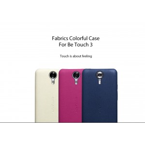 Original ULEFONE Be Touch 3 Fabric Case Blue