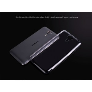 Original ULEFONE Be Touch 3 Silicone TPU Case Διάφανη