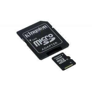 Κάρτα μνήμης Micro SD Kingston 32GB Class 10