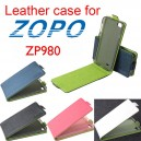 Leather Flip Case Cover with Magnetic Closure For Zopo ZP980 and C2